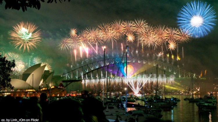 Sydney Australia New Year
